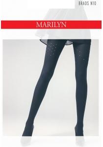 8d66f7e0fe40ba Rajstopy Marilyn z wzorem wokół uda Brads N10