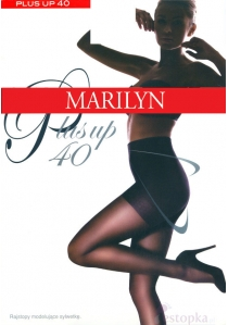 Rajstopy Plus Up 40 den S,M,L mały klin Marilyn